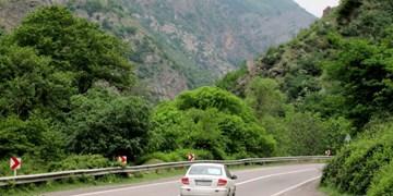 انسداد محور کندوان در روزهای هفتم و هشتم  مهر/ترافیک سنگین در مرزن آبادِ جاده چالوس