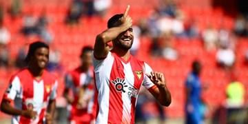 فیلم/گل دیدنی مهرداد محمدی به صدرنشین لیگ فوتبال پرتغال