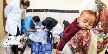 ارائه خدمات پزشکی توسط گروه جهادی شهید کاظمی در قم، تهران و ورامین