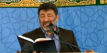مناجاتخوانی سعید حدادیان در مهدیه امام حسن بدون حضور جمعیت