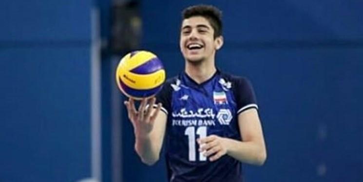 لیگ والیبال صربستان | درخشش ستاره ایرانی همچنان ادامه دارد