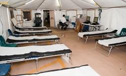 راهاندازی بیمارستان صحرایی در اردبیل