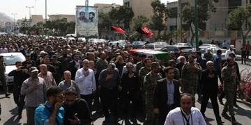 بازگشت پیکر شهیدان «ولیالله صدرایی» و «رضاعلی ابراهیمنژاد» به مازندران
