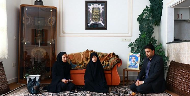 مادر شهید مجید شهریاری به کما رفت