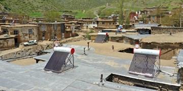 آغاز نصب آبگرمکنهای خورشیدی در روستاهای زنجان