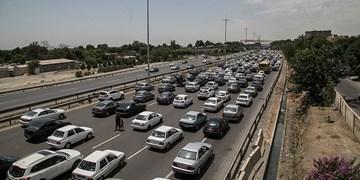 انسداد جاده هراز تا ساعت 17 امروز/ثبت 150هزار تردد در یک روز در آزادراه کرج-تهران