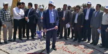 پنج پروژه حوزه آب «دشتستان» کلنگزنی یا افتتاح شد