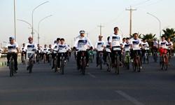 برگزاری همایش دوچرخهسواری با شعار «مصرف بهینه آب»