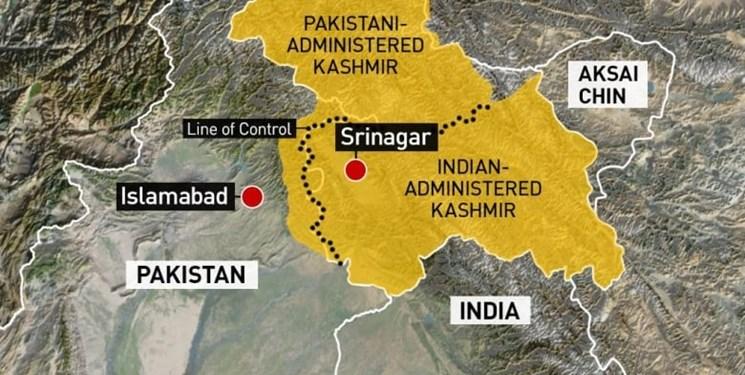 اعتراض به حذف منطقه کشمیر از قلمرو  پاکستان و هند در تصویر اسکناس عربستان سعودی