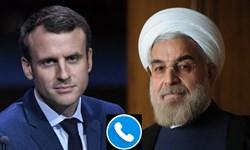 روحانی و مکرون درباره لبنان، برجام و اینستکس گفتوگو کردند