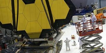 آینه عظیم تلسکوپ جیمز وب نصب شد