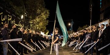 قانلی قیلیش کربلادا پاس توتوپ/ «شاخسِی»نوعی مراسم مذهبی آذربایجانیها