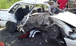 برخورد مرگبار نیسان و پراید در کرمانشاه حادثه آفرید/ 4 عضو یک خانواده قربانی شدند