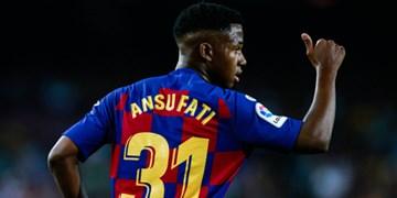 فیلم/کلیپ بارسلونا به بهانه تمدید قرارداد با فاتی