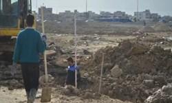 بهره برداری از کانال دفع آبهای سطحی شهرک رجایی ماهشهر