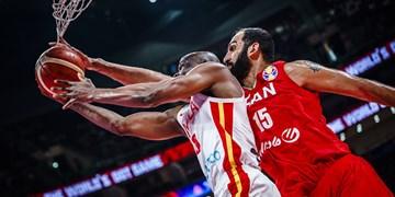 بسکتبال انتخابی کاپ آسیا| حدادی تاثیرگذارترین بازیکن دیدار ایران و سوریه شد