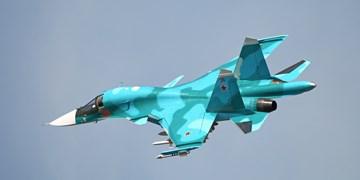 برخورد دو فروند سوخو 34 در روسیه