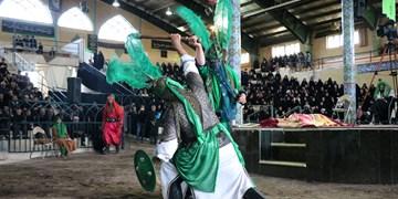 برپایی مجلس تعزیه به مدت 3 روز در ارمغانخانه زنجان