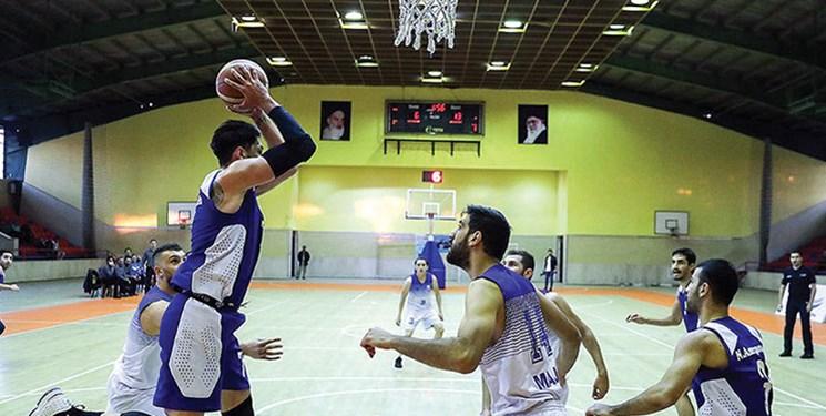 حاشیه دیدار بسکتبال نفت و آویژه| عصبانیت شدید سرمربی خارجی مشهدیها از تصمیم داور