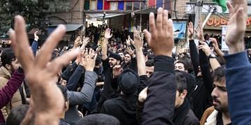 عزاداری محلات اردبیل در سومین روز شهادت امام حسین(ع)