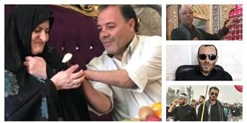 علمداران، شاگردان مکتب حضرت عباس (ع) /تاسی جانبازان وطن از مظهر غیرت کربلا+ عکس و فیلم