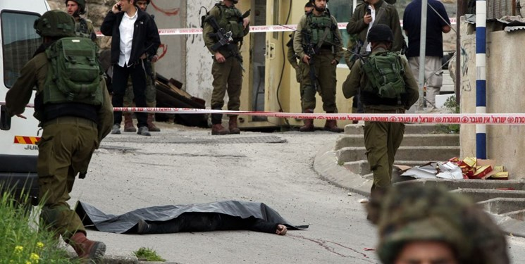 مجروح شدن دو نظامی صهیونیست در کرانه باختری