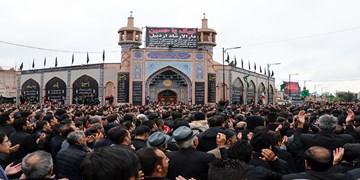 عکس| اجتماع عزاداران اردبیلی در روز تاسوعا