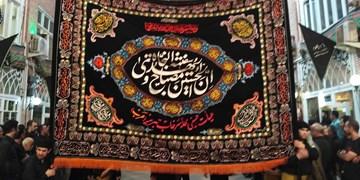 «عَلم» میراث مظلوم عزاداری تاریخی بازار تبریز+ تصاویر