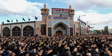 عکس| اجتماع عظیم  عزاداران اردبیلی در روز عاشورا