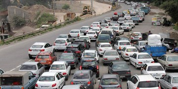 ترافیک سنگین در محورهای کندوان و فیروزکوه/تردد روان در جاده هراز