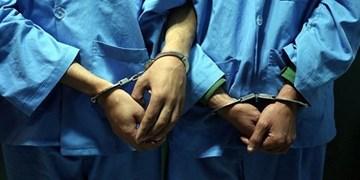دستگیری اعضای باند سرقت به عنف 35 تن شمش سرب