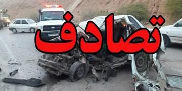 تصادف 3 خودرو با 13 مصدوم در گلستان