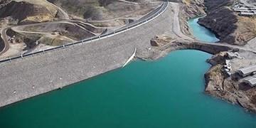 افزایش ۵۰۰ لیتری ظرفیت برداشت آب از سد طالقان