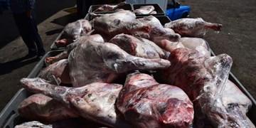 کشف ۵۲۰ کیلوگرم گوشت فاسد در شهرک صنعتی اردبیل