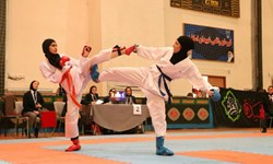 قهرمانی بانوی کاراته کا سیرجانی در مسابقات کاتای مجازی کشور