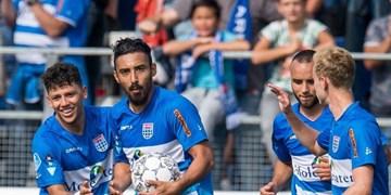 لیگ فوتبال هلند|قوچان نژاد در ترکیب زووله مقابل آلکمار
