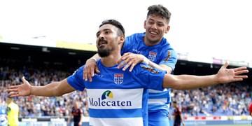 لیگ فوتبال هلند| قوچان نژاد در ترکیب اصلی زووله مقابل دن  هاخ
