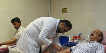 اهدا خون توسط اعضای انجمن اهدا عضو ایرانیان استان سیستان و بلوچستان