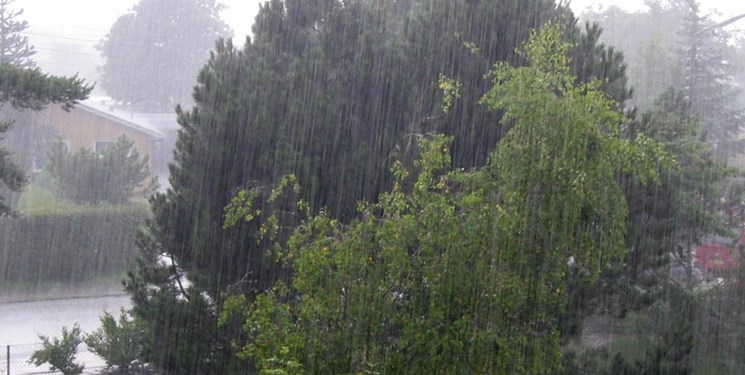 بارش پراکنده باران همراه با کاهش دمای هوای مازندران