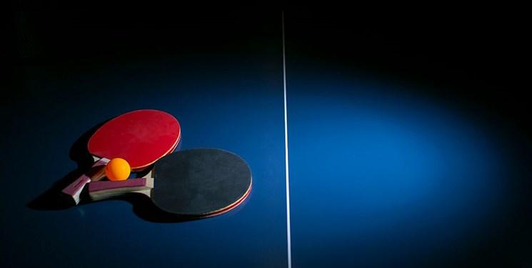 تعلیق مسابقات تنیس روی میز در مرداد و شهریور
