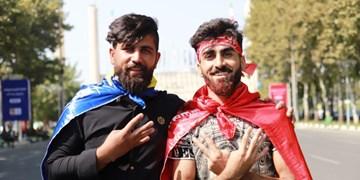 حاشیه دربی 90|هوادارانی که بلیت ندارند به دنبال بازار سیاه + عکس و فیلم