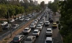 ترافیک در آزادراه قزوین-تهران/محدودیت ترافیکی در جاده هراز