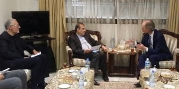 رایزنی خاجی با نماینده دبیرکل سازمان ملل در امور سوریه