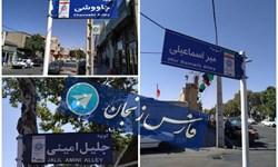 حذف خائنانه نام شهدا به زنجان رسید +عکس