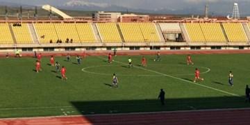 لیگ دسته 2 فوتبال  پیروزی کاسپین در برابر امید گناوه