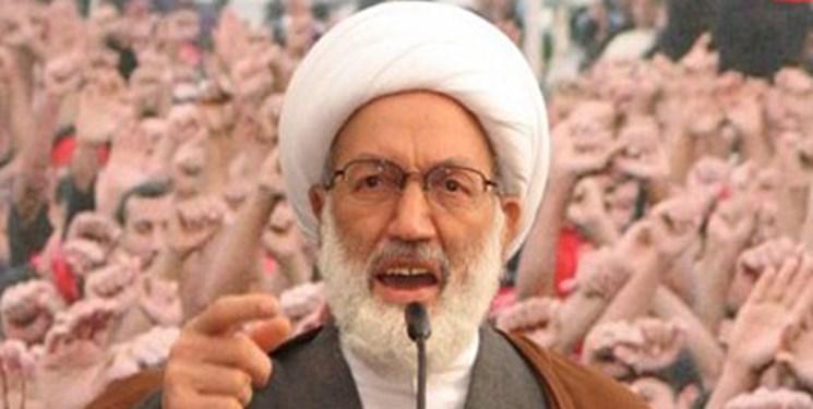 شیخ عیسی قاسم: مردم بحرین تا تحقق پیروزی به حرکت خود ادامه خواهند داد