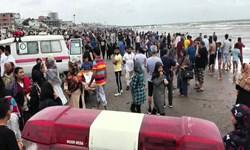 حضور ناجیان غریق داوطلب در سواحل مازندران/ پایان زندگی ۴۷ تن در دریا