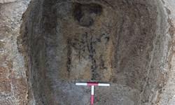 کشف یک پیکر 1400 ساله در ارتفاعات+تصاویر