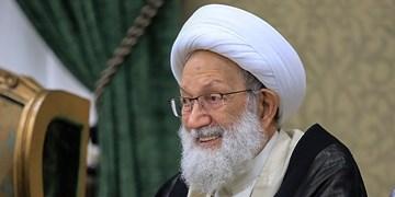 حضور رهبر شیعیان بحرین در بندرعباس