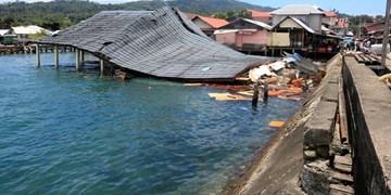 زمینلرزه قدرتمند در اندونزی؛ یک نفر کشته شد+عکس
